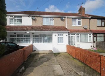 Thumbnail 4 bed terraced house to rent in Woodrow Avenue, Hayes, Hayes