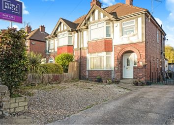 3 bed semi-detached house for sale in Chesterfield Road North, Mansfield NG19
