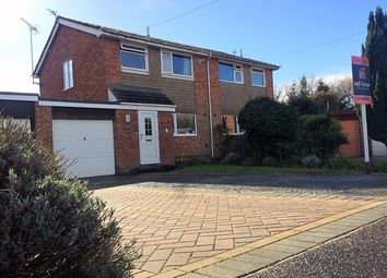 Thumbnail 3 bed semi-detached house for sale in Canterbury Close, Feniton, Honiton