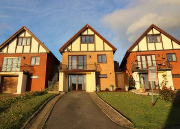 Thumbnail 4 bed detached house for sale in The Woodlands, Brackla, Bridgend.