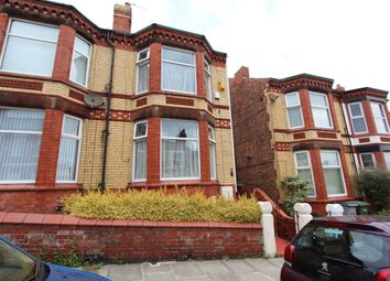 Thumbnail 3 bed semi-detached house to rent in St. Lucia Road, Wallasey