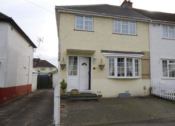 Thumbnail 3 bed end terrace house for sale in Coombes Road, London Colney