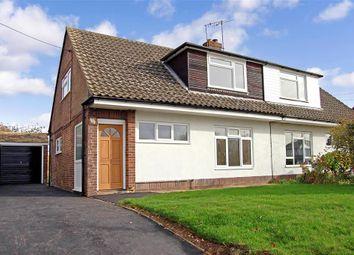 Thumbnail 3 bed semi-detached house for sale in Pound Road, East Peckham, Tonbridge, Kent