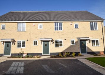 Thumbnail 2 bed terraced house for sale in Ellis Gardens, Off Reach Road, Burwell