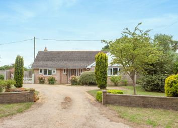Thumbnail 3 bed detached bungalow for sale in Hulver Road, Mutford, Beccles