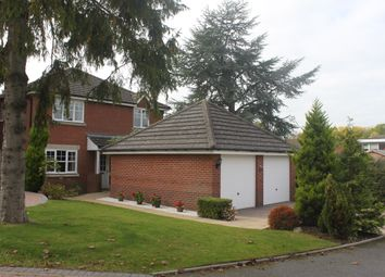 Thumbnail 4 bed detached house for sale in Rowbrook Close, Shirley, Solihull