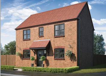 Thumbnail 3 bed detached house for sale in Arcot Manor, Off Fisher Lane, Cramlington