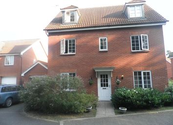 Thumbnail 5 bed detached house to rent in Benet Close, Thetford