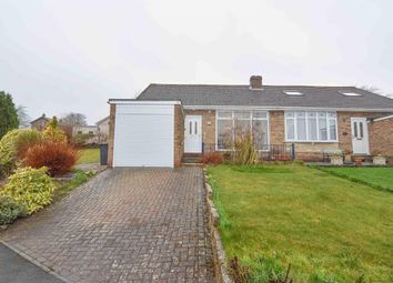 Thumbnail 2 bed semi-detached bungalow for sale in Foxhill Crescent, Lanchester