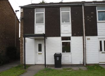 Thumbnail 3 bed town house to rent in Goodwood Road, Leicester