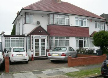 Thumbnail 4 bed semi-detached house for sale in Crosslands Ave, Southall