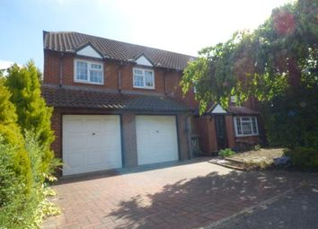 Thumbnail 5 bed detached house for sale in Aldrich Drive, Willen, Milton Keynes