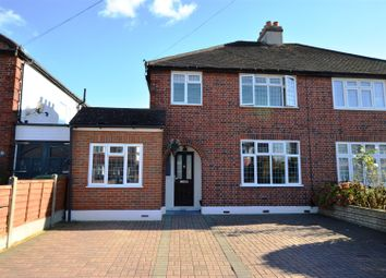 Thumbnail 4 bedroom semi-detached house for sale in The Mount, Worcester Park