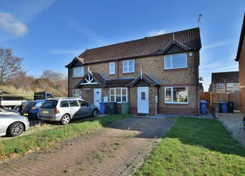 Thumbnail 2 bedroom terraced house for sale in Oxen Park Close, Nettleham Fields, Lincoln