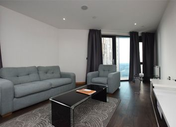 Thumbnail 2 bed flat to rent in Pinnacle Tower, 23 Fulton Road, Wembley, Greater London