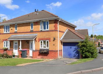 Thumbnail 3 bed semi-detached house for sale in Fireclay Drive, St. Georges, Telford