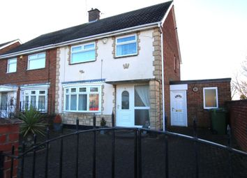 Thumbnail 3 bed semi-detached house for sale in Bede Crescent, Washington