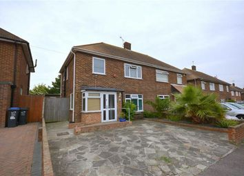 Thumbnail 3 bedroom semi-detached house for sale in Perkins Avenue, Margate, Kent