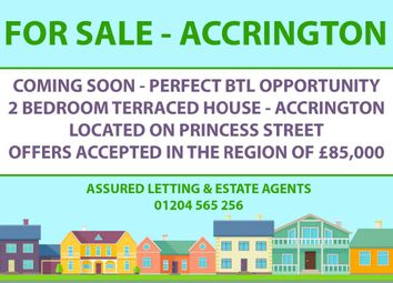 Thumbnail Terraced house for sale in Princess Street, Oswaldtwistle, Accrington