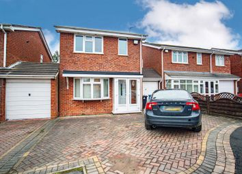Thumbnail 3 bed link-detached house for sale in Rosewood Gardens, Essington, Wolverhampton