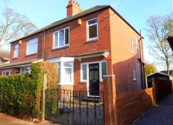 Thumbnail 3 bed semi-detached house for sale in Claremont Avenue, Newcastle Upon Tyne
