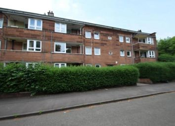 Thumbnail 3 bed flat for sale in Sannox Gardens, Glasgow, Lanarkshire