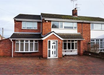Thumbnail 4 bed semi-detached house for sale in Lodge Road, Rugeley