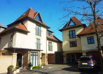 Thumbnail 4 bedroom town house for sale in Wyndham Road, Parkstone, Poole