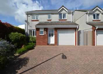 Thumbnail 4 bed detached house for sale in Spencer Road, Plymstock, Plymouth, Devon