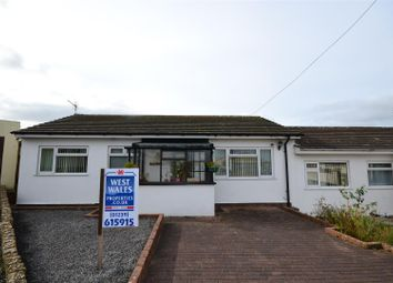 Thumbnail 2 bed semi-detached bungalow for sale in Heol Y Wylan, Aberporth, Cardigan