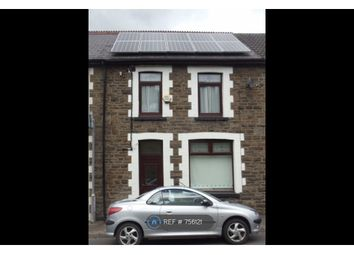 Thumbnail 2 bed terraced house to rent in Bronallt Terrace, Aberdare