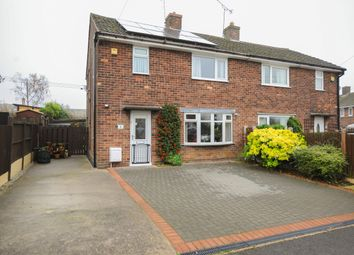 Thumbnail 3 bed semi-detached house for sale in Heather Avenue, Heath, Chesterfield