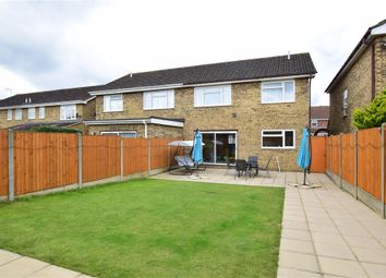 Thumbnail 4 bed semi-detached house for sale in Ilfracombe Crescent, Hornchurch, Essex