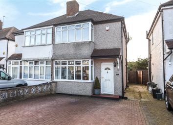 Thumbnail 2 bed semi-detached house for sale in Crosier Way, Ruislip, Middlesex