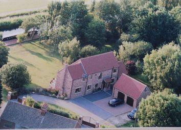 Thumbnail 3 bed detached house for sale in Brickyard Lane, Walkeringham, Doncaster