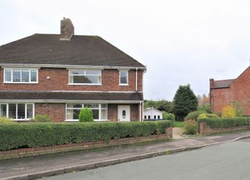 Thumbnail 3 bed semi-detached house for sale in New Street, Two Gates, Tamworth