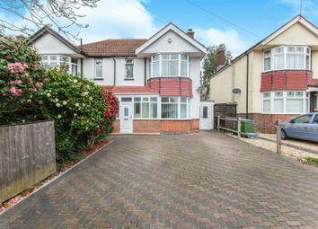 Thumbnail 3 bedroom semi-detached house for sale in Regents Park Road, Southampton