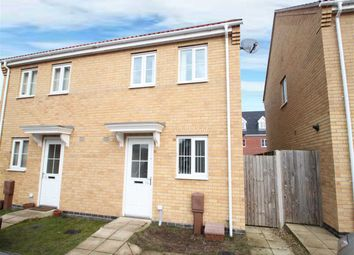 Thumbnail 2 bedroom semi-detached house for sale in Lower Reeve, Great Cornard, Sudbury