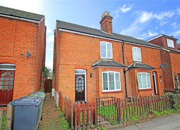 Thumbnail 2 bed end terrace house to rent in Worplesdon Road, Guildford, Surrey