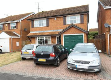 Thumbnail 4 bedroom detached house for sale in Dowding Close, Woodley, Reading