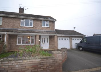 Thumbnail 3 bed semi-detached house for sale in Hellesdon, Norwich