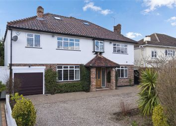 Thumbnail 6 bed detached house for sale in Grove Way, Esher, Surrey