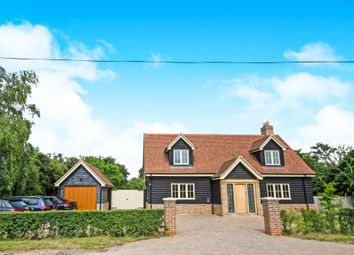 Thumbnail 4 bed detached house for sale in Hall Road, Great Bromley, Colchester, Essex