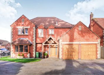 Thumbnail 4 bed detached house for sale in Hinckley Road, Nuneaton