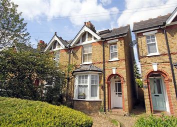 Thumbnail 3 bed semi-detached house for sale in Duncombe Road, Hertford