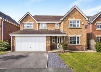 Thumbnail 4 bed detached house for sale in Parish Gardens, Leyland, Lancashire