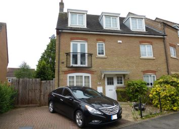 Thumbnail 5 bed end terrace house to rent in Lady Charlotte Road, Hampton Hargate, Peterborough