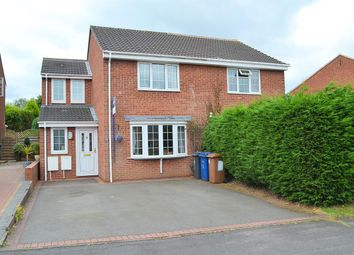 Thumbnail 3 bed semi-detached house for sale in Yew Tree Avenue, Lichfield