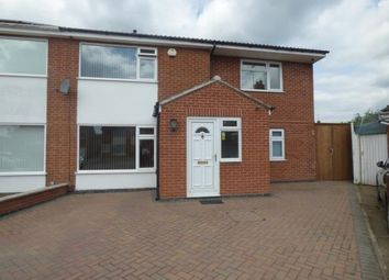 Thumbnail 5 bed semi-detached house for sale in Stour Close, Oadby, Leicester, Leicestershire