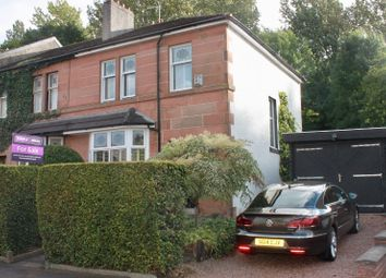Thumbnail 3 bed end terrace house for sale in Holeburn Road, Glasgow